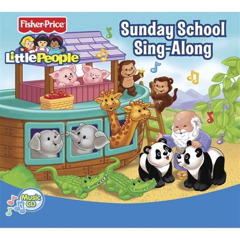 fisher price sunday school sing along cd pre recorded media walmart