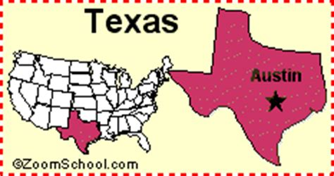 capital of texas map texas capital map