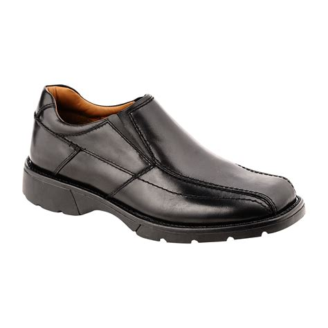 black casual shoe for everyday style and comfort at sears