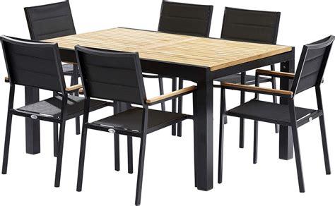 tables de jardins table et chaises de jardin moderne bali