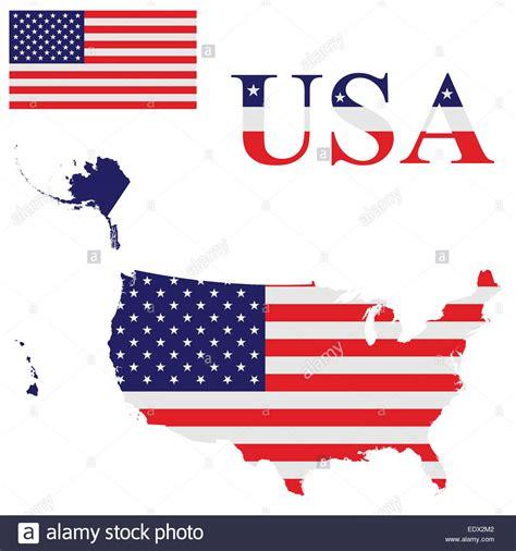united states map alaska and hawaii flag of the united states of america including alaska and