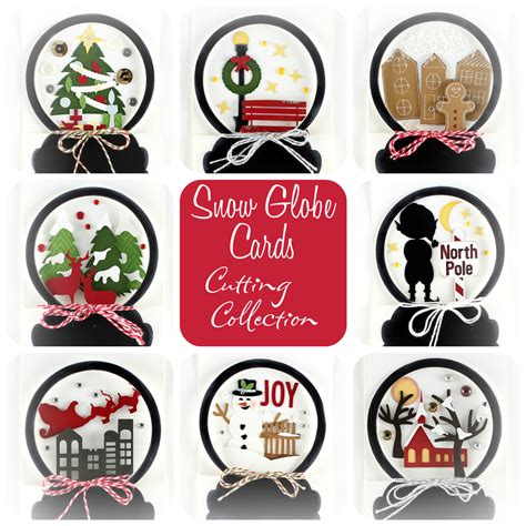 Room Drawing Tool snow globe cards cutting collection wpc svg and ai