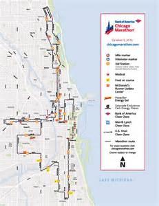marathon map chicago marathon 2016 closures chicago