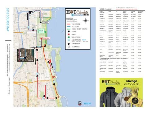 chicago 3rd ward map chocolate 15 5k race course info dowell
