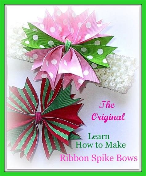 how to spike someones hair 6 how to make hair bow ribbon spike video instructions pom