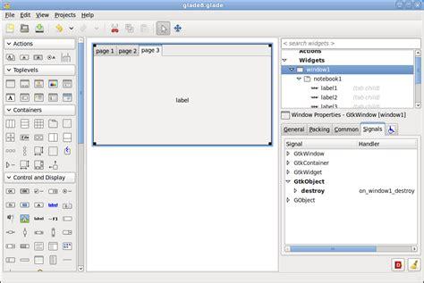 tutorial python glade glade3 python gtk tutorial