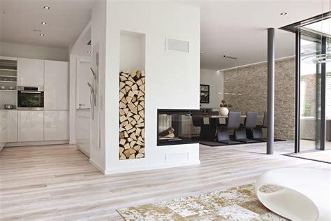 Design Kamine Holz 1136 kamin als trennung k 252 che und esszimmer design