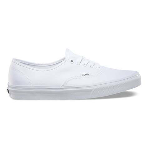 Vans Authentice Pull White Icc authentic in true white vans true white 0ee3w00