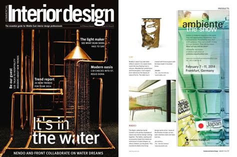 commercial interior design magazine 1000 images about brabbu press clipping on