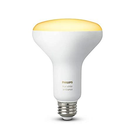 Philips Hue White Ambiance Br30 Single Led Bulb Bed Bath Philips Led Light Bulb Coupons