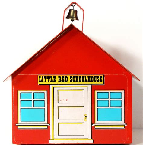 little red school house toys and stuff brumberger little red schoolhouse coin bank