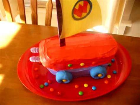 bob the boat that rocked nick jr wonder pets flyboat birthday cake youtube