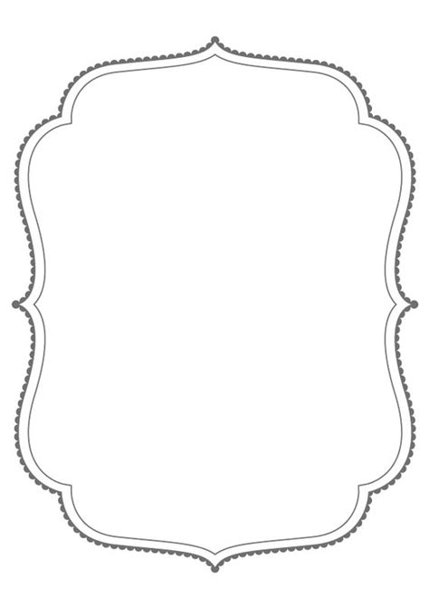 frame outline template dropbox bracket frames from puresweetjoy clip