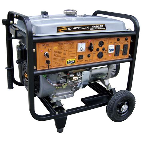duromax 8 500 watt gasoline powered electric start