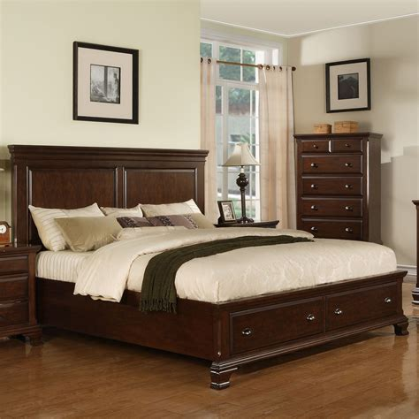 bedroom set with drawers 6 pieces queen storage bedroom sets storage drawers frame