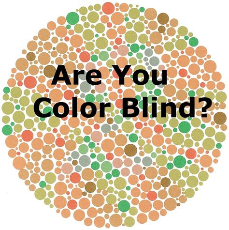 Color Blind color blind types causes test stats treatment