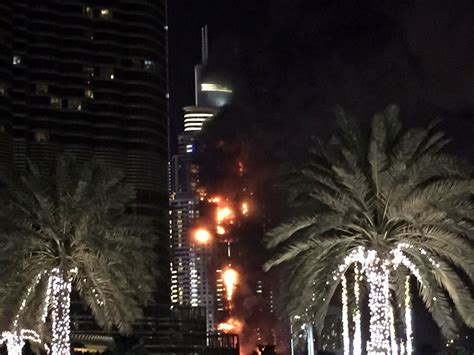new year in dubai 2015 breaks out in dubai hotel on new year s