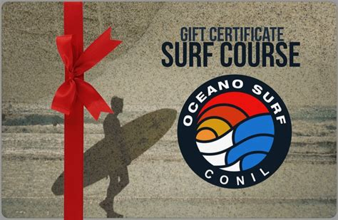 Gift Cards For Golf Courses - oceano surf blog surfing and activity holidays conil spain