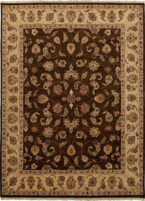 wool area rugs 4x6 knotted pattern wool brown area rug 4x6 asian area rugs by aster