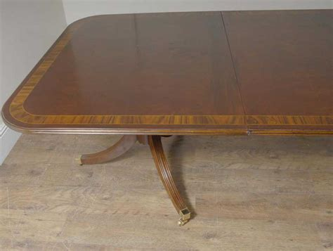 English Mahogany Regency Dining Table 10 Chairs Set Ebay 10 Chair Dining Table Set