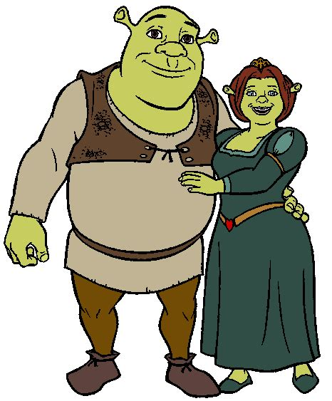 free shrek painting shrek clipart cliparts co