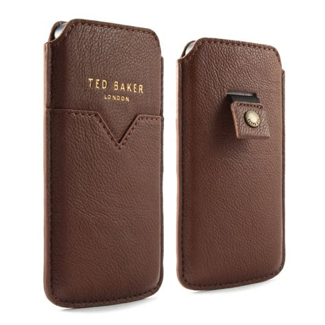 New Silicon Ted Baker For Iphone 5 ted baker iphone 5 leather style pouch