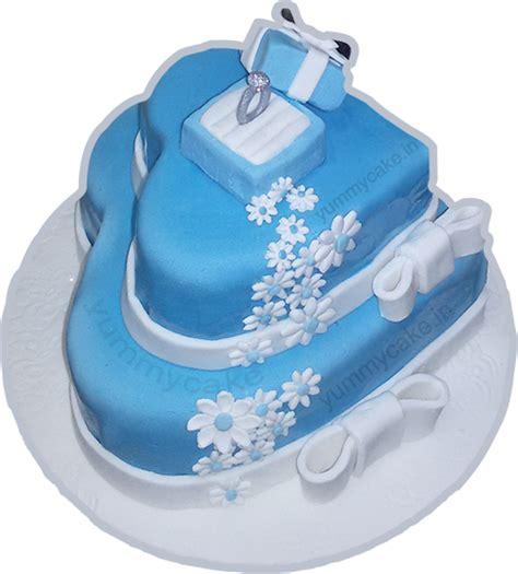 Engagement Cakes by Engagement Cake Buy Engagement Cakes In Delhi Yummycake