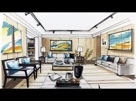 sketch interior design youtube