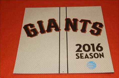 Dodgers Giveaway Calendar - april 7 2016 san francisco giants opening day calendar