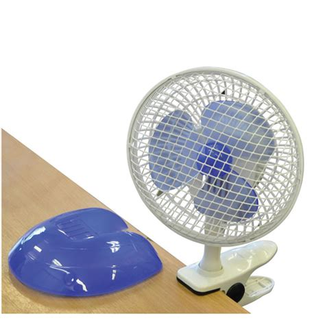 Clip Desk Fan by Mini Clip On Desk Fan 6 Inch 15cm