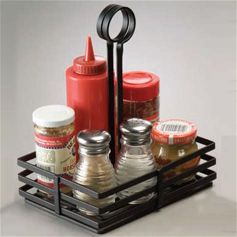 table caddy for restaurant condiment caddies table top service zesco com