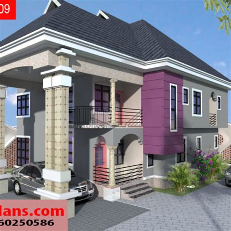 Bungalow Duplex Plans by 3 Bedroom Duplex House Plans In Nigeria Bedroom Review