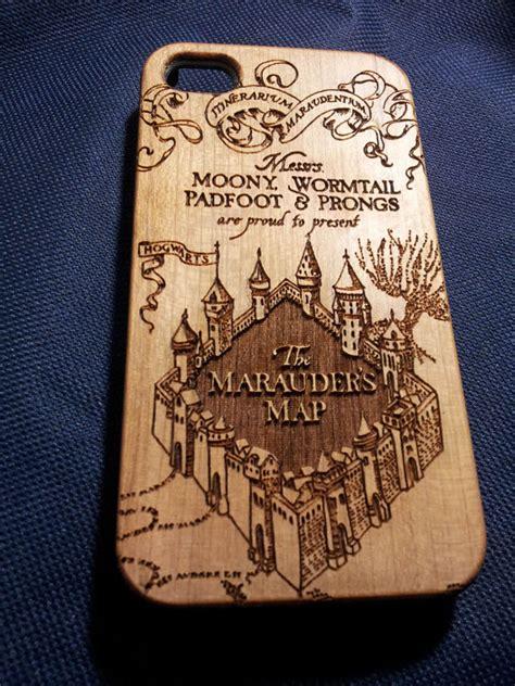 Cute Duvet Marauder S Map Wooden Phone Case Harry Potter Inspired