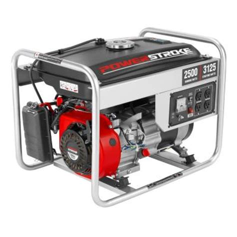 portable generator powerstroke 2500 watt gasoline