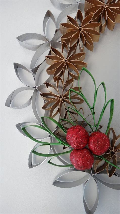 toilet paper roll wreath craft wreath toilet paper roll toilet paper roll