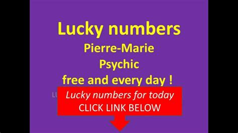 image gallery lucky numbers today
