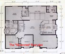 kitchen family room floor plans blank