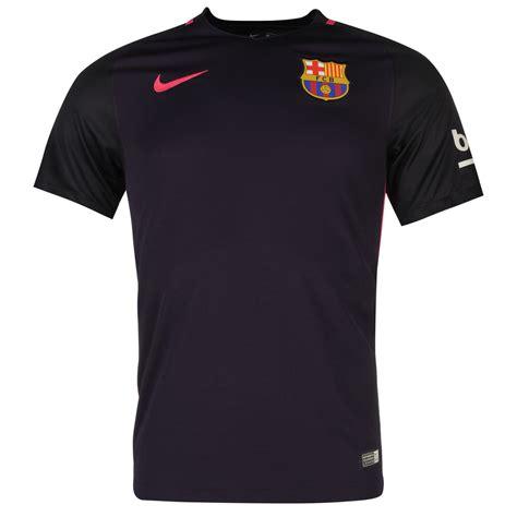 Jaket Barcelona Away 2016 2017 nike fc barcelona away jersey 2016 2017 mens purple football soccer top shirt ebay