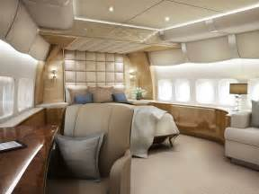 Private Jet With Bedroom Inside Of Boeing 747 8 Private Jet Aviation Blog