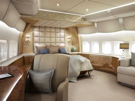 private jet bedroom inside of boeing 747 8 private jet aviation blog