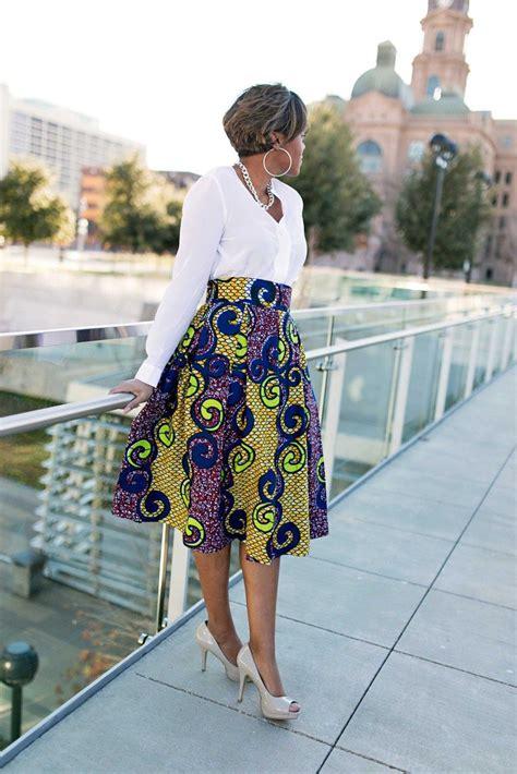 african dress skirt style 2014 diy box pleated ankara skirt african fashion ankara