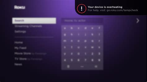 Roku Light by What To Do If The Light Is On Or You See A Your Device Is Overheating Warning Roku Support