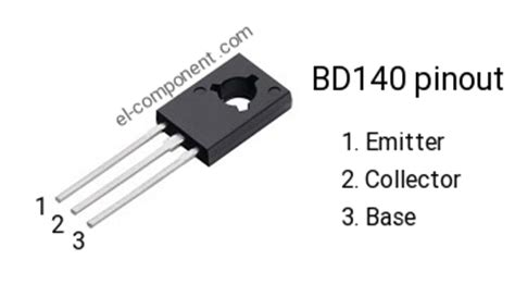 bd140 p n p transistor complementary npn replacement pinout pin configuration substitute