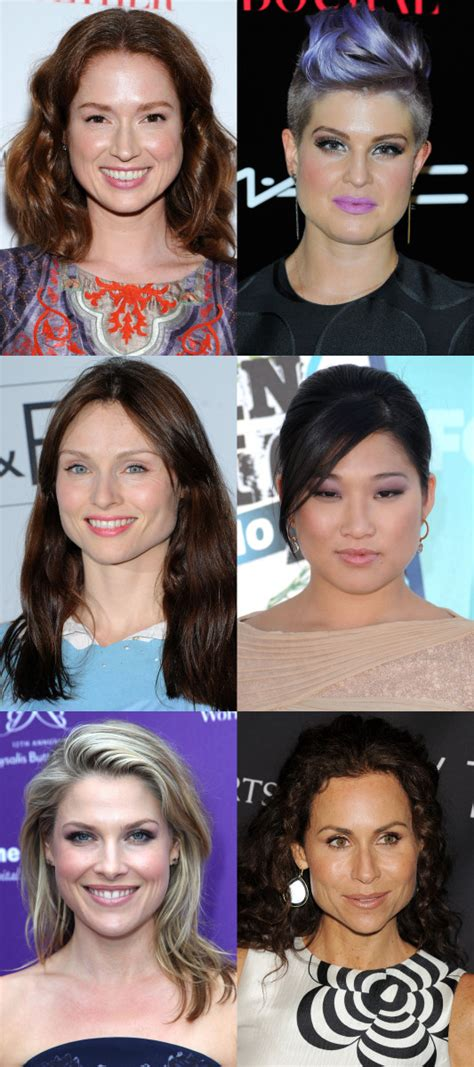 celebrities with pear shaped faces how to figure out your face shape in 4 steps beautyeditor