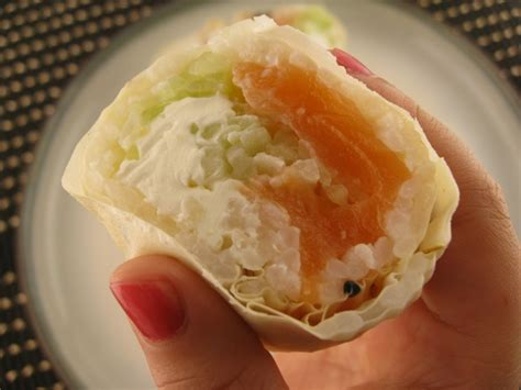 How To Make Sushi With Soy Paper - my asian kitchen salmon sushi roll with soy paper