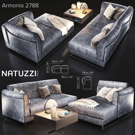 natuzzi armonia sofa sofa natuzzi armonia2788 var 3d model turbosquid 1203999