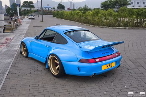 porsche widebody rwb go wide with this rwb 993 porsche 911 with pur wheels