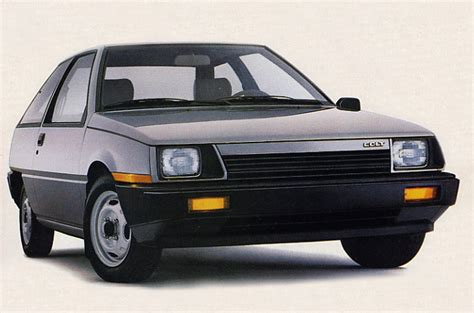 mitsubishi colt 1986 hatch heaven 187 dodge