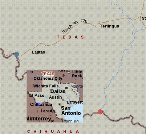 lajitas texas map map for grande texas white water lajitas to terlingua creek