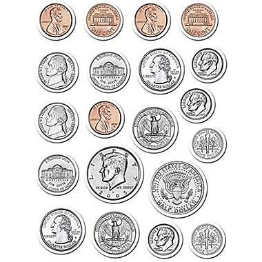 printable large quarter creative teaching press stickers coins staples 174